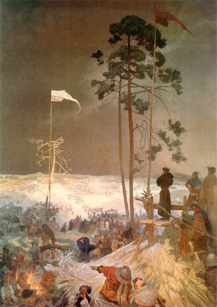 Славянский эпос. Встреча в Кржижках