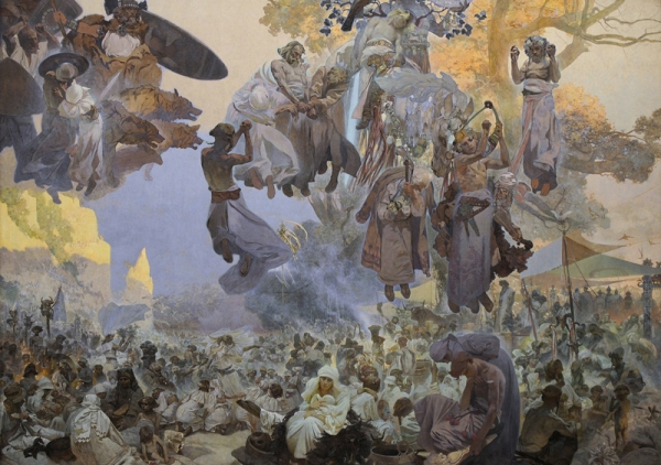 Славянский эпос. Праздник Свентовита, 1912
