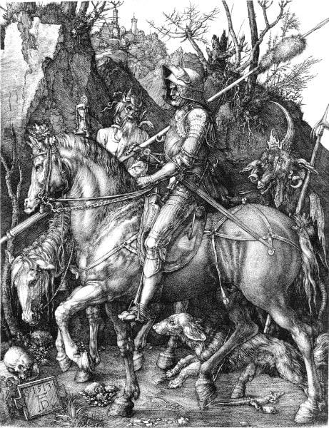 Рыцарь смерть и дьявол