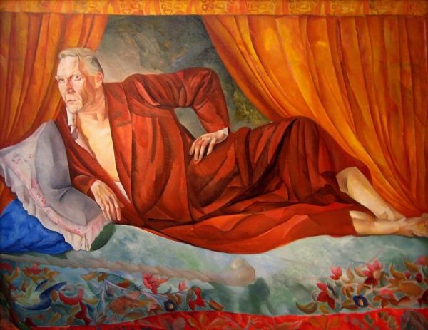 Портрет Шаляпина. 1918