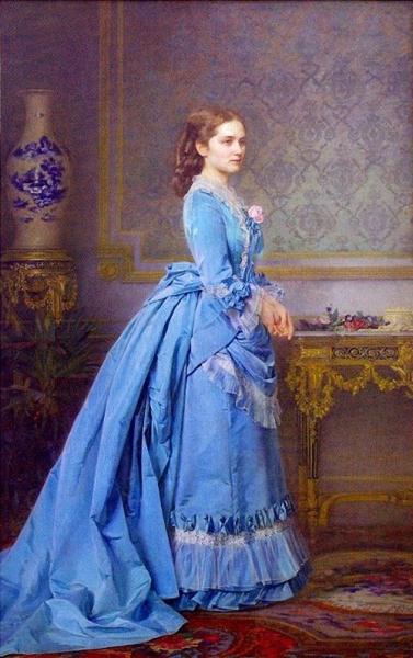 Портрет Варвары Григорьевны Солдатёнковой, рождённой Филипсон 1873