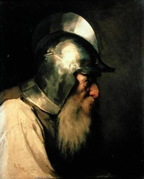 Старый воин времен гугенотов