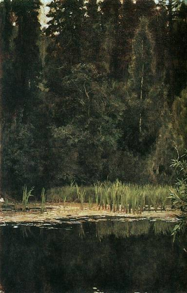 Аленушкин пруд ( Пруд в Ахтырке ). 1880