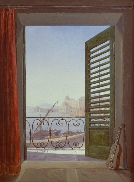 Балкон с видом на Неаполитанский залив, 1830