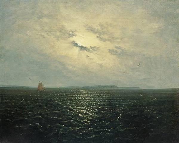 Лунная ночь на море, 1819