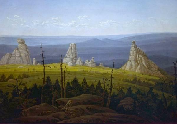 Три Камня в Гигантских Горах, 1826