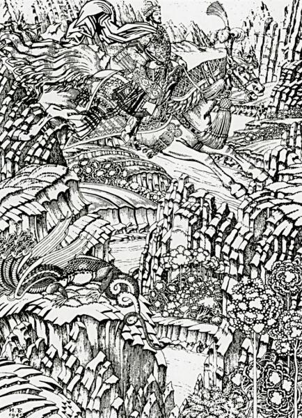 Иллюстрация к былине