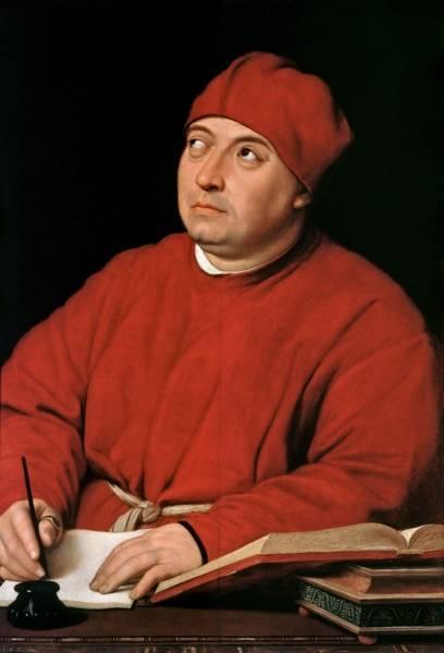 Портрет кардинала Томмазо Ингирами