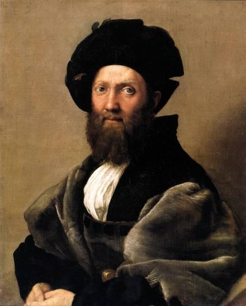 Портрет Бальдассара Кастильоне