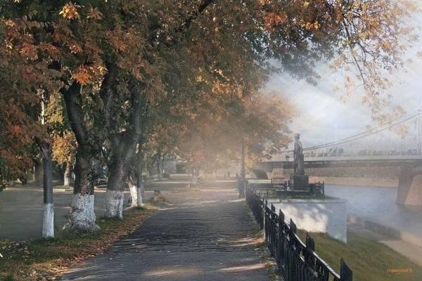 Осеннее утро в Твери