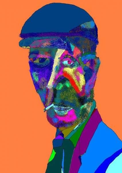 Полуабстрактный поэт