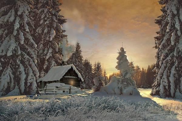 Зимняя сказка.