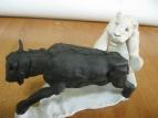 заготовка  нежного  деликатеса  из антилопы-гну