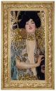 Керамическая картина по мотивам работы Густава Климта «Юдифь с головой Олоферна»