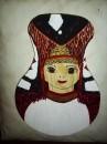 Девушка в удмуртском костюме