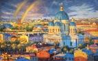 Радужное настроение северной столицы