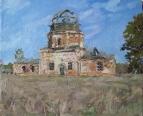 Церковь в селе Осока.