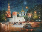 Монастырь в ночном убранстве
