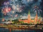 Искрится небо над Москвой