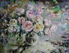 Шелк розовых лепестков