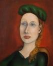 Женщина в зеленом / Марина Бат-Хаям