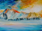 Закат в горах 2