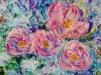 Розовые крокусы