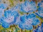 Голубые цветы 2