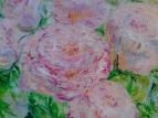 Розовые розы 6