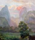 Закат в горах /  Софья Межнева