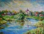 Монастырский пруд