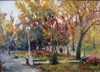 Октябрь в Струковском парке