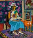 Дама с рыжей собачкой