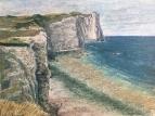 Скалы Этрета во время отлива