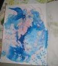 Голубые сны.........диптих... левая часть