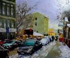 Зима на Московской улочке /  Сергей Ефремов
