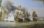 Копия картины George Chambers Senior  The Capture of Puerto Bello, 21 November 1739