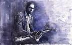 Jazz Saxophonist John Coltrane 03