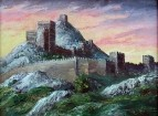 Генуэзская крепость в Крыму. Отсюда началась эпидемия чумы в Европе в ХV веке.