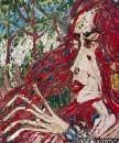Картина Портрет девушки Любава