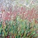Картина Розовые полевые цветы Иван-Чай / Екатерина Лебедева