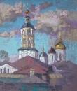 Боровский монастырь. Этюд.