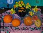 Апельсины и нарциссы