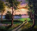 Вечернее солнце / Игорь Лобович