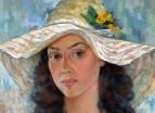 Портрет молодой девушки в шляпе