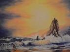 Морской пейзаж по мотивам Andy Simmons