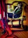 Автопортрет с зеркалом