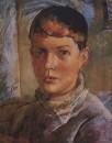 Дочь художника. 1933