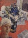Натюрморт (с женской головкой). 1921