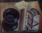 Натюрморт с пепельницей. 1920